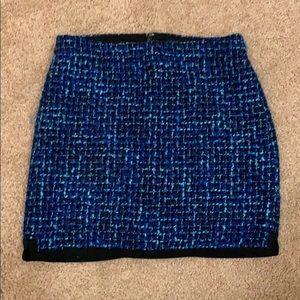 Jcrew Blue skirt size 0